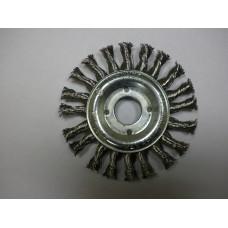 Щетки дисковые жгутовые 125x14x22.2 (нерж. 0.5)